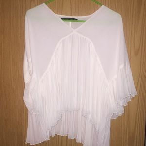 White Dressy Top